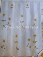 Wholesale Classic Fashion Printing Embroidered Flowers cm Shower Curtain Shower Curtain