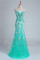 Cheap lace mermaid prom dress Best beaded mermaid evening gown