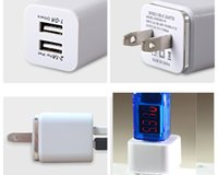 best travel accessories - USB Charger Home Travel Adapter Dual USB Port A Wall Chargers for iPhone Samsung HTC LG Cell Phones Mp3 Mp4 cell phone Accessories best