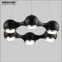 Wholesale Modern LED Chandelier Ring Light Fitting LED lights Circle Suspension hanging light watt Prompt Shipping Guanrantee