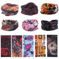 Wholesale 2016 Bandanas Multifunctional Outdoor Cycling Scarf Magic Turban Sunscreen Hair band DHL Fast Shipping styles