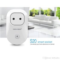 Wholesale Smart Wifi Plug Socket Remote Control repeater Plug Orvibo s20 Socket Intelligent Smart Device EU UK US AU Socket Plug with Andoid ios App