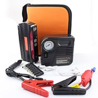 Wholesale Auto Inflator Pump Car Emergency Power Supply USB Car Jump Starter Emergency Charger Booster Power