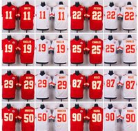 alex smith jersey - Elite Chiefs Jerseys Marcus Peters Travis Kelce Jeremy Maclin Jamaal Charles Alex Smith Eric Berry Red White Mix Order