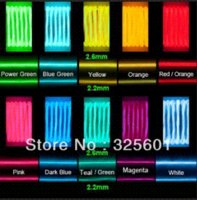Wholesale for Best selling mm lighting el cable EL cable at different color meter No inverter