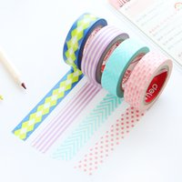 Wholesale Excellent Yi Pai effective office stationery lines and paper tape DIY tape carrying hand color decorative stickers