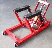 atv lifts - 1500 Lbs Jack Lift Stand Quad Dirt Motorcycle ATV Street Bike Hoist mm Position Locking Mechanism