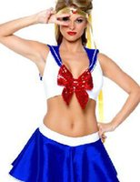 Sexy Costumes adult sailor moon costumes - Anime Pretty Sailor Moon Costumes Sexy Adult Halloween Costumes for Women Cosplay