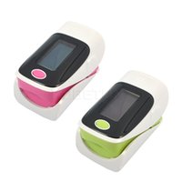 Wholesale Digital Health care SH C2 CE OLED LCD Finger Pulse Oximeter Blood Oxygen SpO2 Saturation Monitor Different Directions Display