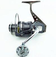 bass fishing reels - 5 BB Seamless Metal Spinning Fishing Reel Carp Bass Sea Fishing Reel Fishing Tackle