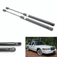 auto lift kits - 2pcs Auto Hood Gas Charged Spring Lift Support Kit Rods Fits for Lincoln Town Car