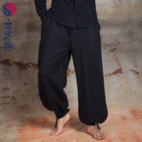 Wholesale Yun Taiji comfort pants pants radish bamboo Ma Tai Chi wide leg pants Mens pants and martial arts