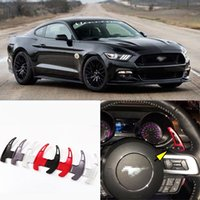 alloy forks - 2pcs Alloy Add On Steering Wheel DSG Paddle Shifters Extension For Ford Mustang