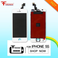 Wholesale OEM LCD for iphone s Display Touch Screen With Digitizer Full Assembly For iPhone S DHL screen lcd for iphone s