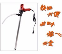 barrel pumps - New Portable Hand Oil Barrel Pump V W Vertical Screw Pump With C Pipe