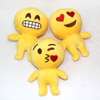 Unisex big lots pillows - Plush Emoji Pillow toys emoji Stuffed dolls Plush Pillow Emoji Smiley Pillows Cartoon Cushion QQ Expression Stuffed Plush doll