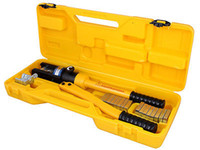 Wholesale 16 Ton Hydraulic Wire Crimper Crimping Tool Battery Cable Lug Terminal w Dies