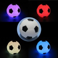 baby moods - Color Changing LED Mood Party Football Lamp Night Lamp Decoration Gift Night Light for Baby Children