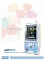 ambulatory blood pressure - EMS Shipping ABPM CONTEC Handheld Digital Ambulatory Blood Pressure Monitor BP Test h NIBP Patient Monitor Automatic Meter