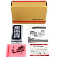 Wholesale SIB Backlight Metal Shell IP68 Waterproof RFID KHZ EM Smart Card Entry Lock Keypad Standalone Door Access Control System F1217D