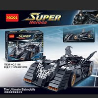 batmobile toy - Batman Building Kit The Ultimate Batmobile Collector Edition Block Puzzles Building Bricks Blocks Set Toy Lepin