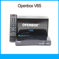 Wholesale 1 Openbox v8s dvb s2 ali3511 support xUSB USB Wifi WEB TV OSD support in many languages and skin Set top boxes by DHL