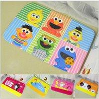 Wholesale Sesame Street Winnie the Pooh cartoon mats chinchillas Stitch Foot