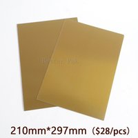 Wholesale A4 Water Washable for Pad Printing Hot Foil Stamping CliChe Making UV Exposure Photopolymer Plate Mold
