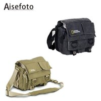 Wholesale high quality NATIONAL GEOGRAPHIC Professional DSLR camera bag case For mm lens D3000 D3100 D5000 D5100 D D