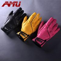 Wholesale AMU Full Finger Motorcycle Gloves Summer Waterproof Wearable Protective Gloves Guantes Moto Luvas Alpine Motocross Stars Gants Moto Verano