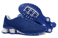 Wholesale New Models Hot sale man shox Sport shoes colors mens trainers Running shoxes shoes size