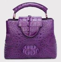 Wholesale Top Grade Real Leather Lady Capuciines Handbag M48870 M48871 Women Fashion Designer Top Handle Tote Bag