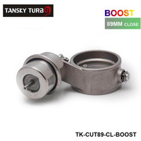 Wholesale Tansky H G NEW Boost Activated Exhaust Cutout Dump MM Close Style Pressure about BAR TK CUT89 CL BOOST