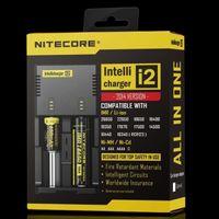 Wholesale Nitecore I2 Universal Charger for Battery E Cigarette in Multi Function Intellicharger US UK EU AU PLUG