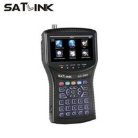 Wholesale Satlink WS inch LCD DVB S2 HD Satellite Finder signal finder meter satlink finder ws6960 wholesales