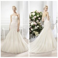 autumn fashion uk - Sweetheart Lace Wedding Dress Slim Chapel Long Garden Bridal Gowns Formal Customized UK Fashion Style Vestidos De Novia