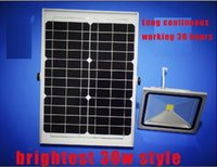 Wholesale Factory direct sale W w Solar Power LED Flood light Garden Spotlight Waterproof project light lamps solar garden lighting wall lamp