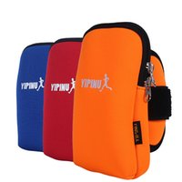 arts productions - Sports Cell Phone Arm Bag Women Men Running Hande Band With Wristlet Bags Outdoor Production Waterproof Breatable
