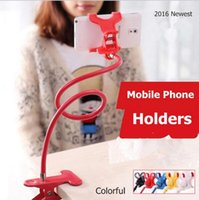 bedding se - 2016 Hot Flexible Long Arm Cell Phone Holders Stand Lazy Bed Desktop Mounts for iPhone s SE s plus Samsung Galaxy s7 edge HTC LG Sony