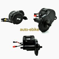 Wholesale 48V W fun Bafang Mid Drive Central Motor BBS02 Crank Motor Eletric Bicycles Trike Conversion DIY Ebike Kits with C963 LCD Display