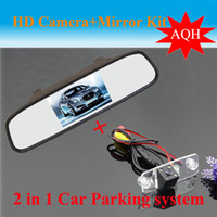 accent mirror - Promotion Auto parking System for Hyundai Elantra Terracan Tucson Accent CCD Car Rear View Camera HD Car rear Mirror