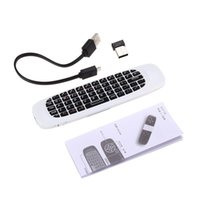 Wholesale WS F Air Mouse Wireless Rechargeable Keyboard Qwerty with Touchpad
