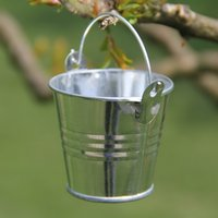 Favor Tins and Pails pails - Mini White Pail Mint Tin Wedding Favors DIY Beach wedding gift