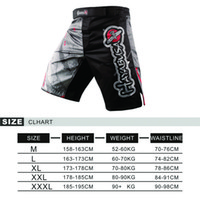 Wholesale MMA shorts Tiger Muay Thai Technical performance Falcon shorts sports boxing clothing muay thai shorts cheap