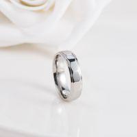 angular steel - 2016 Summer New Angular Freezing Tungsten l Stainless Steel Rings For Men Women Jewelry Bijoux Couples Ring Original Design OEM order