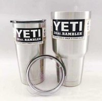 best car cooler - 30oz Yeti Cups Cooler Stainless Steel oz YETI Rambler Tumbler Cup Car Vehicle Beer Mugs Double Wall Bilayer Vacuum best quality