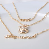 aquarius females - NewTwelve constellations multilayer necklace Zinc alloy charm with high quality crystal Fashion Female Jewelry Aquarius