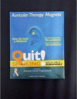 Wholesale AAA Quality Fashion Auricular Therapy Magnets Quit Smoking Auricular Magnet Auricular Therapy Zero Smoke Patch