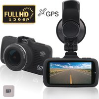 Wholesale Full HD P quot Screen Dashboard Camera Recorder Car Dash Cam car dvr with GPS G Sensor WDR LDWS Parking Monitor