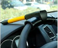 Universal T Estilo Auto Seguridad Rueda Del Volante Alarma Del Coche Dispositivo Antirrobo Extra Seguro Con Construcción De Acero Resistente Para Todos los COCHES
